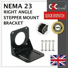 Nema 23 57mm Stepper Motor Mount Angle L Bracket + Screws CNC 3D Printer UK FAST