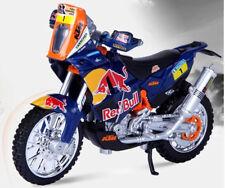 Dakar Rally KTM Sxf 450 1:18 Diecast Motocross Mx Juguete Modelo Motocicleta