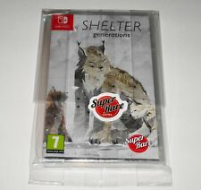 SHELTER GENERATIONS (Switch) SUPER RARE GAMES #3 - RARE ONLY 3000 COPIES PRINTED