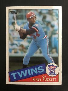 536 Kirby Puckett Minnesota Twins 1985 Topps RC Baseball Card