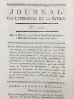 Siège d'Huningue 1797 Haut Rhin Hüningue Strasbourg Brottier Rudler Férino