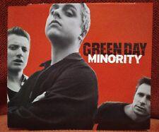 GREEN DAY - PROMO CD SINGLE 2000 - Minority +3 - RARE OOP