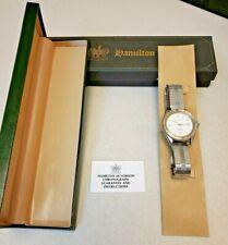 Hamilton Khaki Sub II Ref 9858 Wrist-Watch, In Box, Engraved, Flawed