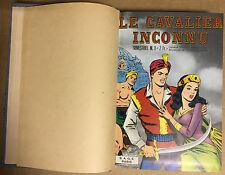 LE CAVALIER INCONNU - Collection Complète en 4 albums archives Sagedition BE