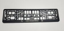 2 x ECHTE 3D Kennzeichenhalter  Nummernschildhalter Mercedes Benz