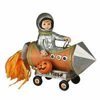 Bethany Lowe Rocket Man Boy Trick Treater Retro Vntg Halloween Figurine Decor