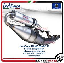 Leovince HAND MADE TT Scarico completo alluminio KYMCO AGILITY 50 2010>2012