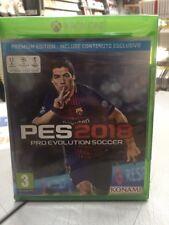 PES 2018 Pro Evolution Soccer 2018 Premium Edition Ita XBox One NUOVO SIGILLATO