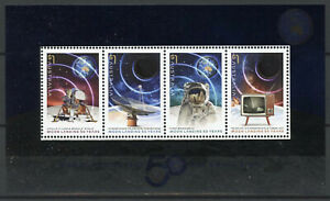 Australia Space Stamps 2019 MNH Moon Landing Apollo 11 50th Anniv 4v M/S