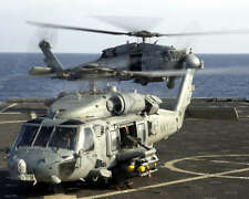 HH-60H SEAHAWK HELICOPTERS 8X10 PHOTO U.S. NAVY SEALS