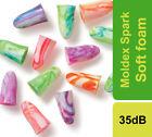 Moldex Spark Plugs Soft Foam Ear plugs 7800 SNR 35dB