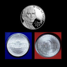 Philadelphia Uncirculated Proof U.S. Mint US Nickels
