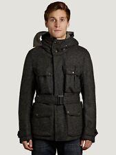 CP Company Shetland Wool Goggle Jacket in Dark Grey BNWT