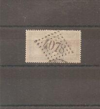 TIMBRE FRANCE FRANKREICH N°33 OBLITERE GC 4078 VALENCIENNES COTE 1100 EUROS