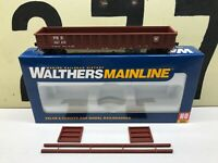 Walthers HO Scale PRR Pennsylvania 53' Corrugated Side Gondola RD #387189 RTR