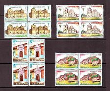 SPAIN - SG2212-2215 MNH 1973 SPAIN IN THE NEW WORLD - 2nd SERIES - BLOCKS OF 4