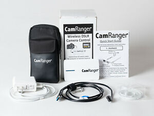 CamRanger Wireless Camera Control with Cables + Pouch. WORKS PERFECTLY!