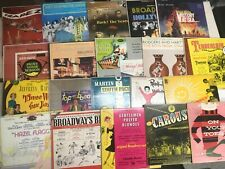 (25) Musical Broadway Cast Show Soundtrack NM Records LOT 50-60s Trapeze Movie