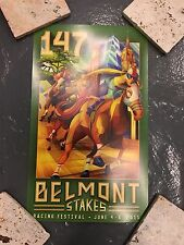 2015 147th Belmont Stakes Triple Crown Poster American Pharaoh