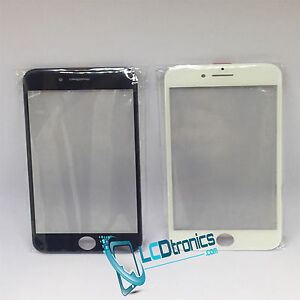 New Front Outer Screen Glass Len + Frame Bezel + 250um OCA For iPhone 6S