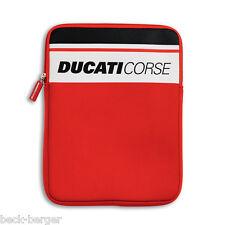 DUCATI Corsé iPad Cubierta Carcasa Neopreno Funda protectora Apple Tableta rojo