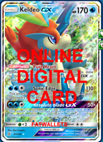 1X Keldeo GX 47/236 Unified Minds Pokemon TCG Online Digital Card