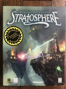 Stratosphere Conquest Of The Skies PC RTS Game (Ripcord, 1998) Big Box Complete