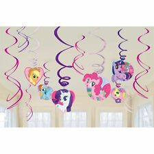 MY LITTLE PONY HANGING SWIRL PARTY DECORATION KIT BIRTHDAY PARTY FAVOR SUPPLIES