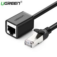 UGREEN Cat6 Ethernet Extension Cable Rj45 Lan Network Cable Adapter Fr PC Laptop
