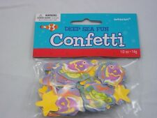 DEEP SEA FUN TABLE CONFETTI BIRTHDAY PARTY CRAFTS CARDS 14G FREE P & P