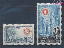Französ. Gebiete Antarktis 29-30 postfrisch 1963 Internationale Jahre (8112410