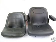 HIGH BACK BLACK SEAT FITS 650,750,850,950,& 1050 JOHN DEERE COMPACT TRACTOR #JN