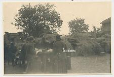 Foto Polen-Feldzug  Panzer/Tank abgetarnt-Soldaten 3.Panzer-Division  2.WK(P263)