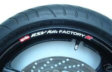 APRILIA RSV mille FACTORY R WHEEL RIM STICKERS - millie