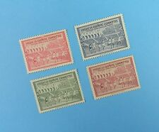 Olympic Poster Stamps - St. Moritz, Helsinki - 1940 WW2 Cancelled Games