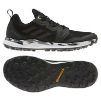 adidas Terrex men's shoes terrex Agravic trail running black and white Size 9
