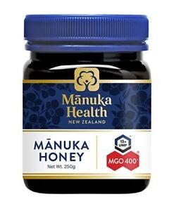 NEW Manuka Health MGO 400+ 250g Manuka Honey New Zealand