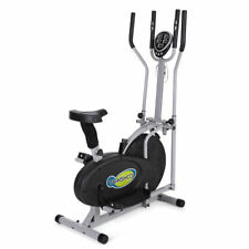 Elliptical Machine Trainer 2 in 1 Exercise Bike Total Cardio Fitness Bbicycle
