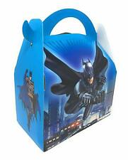 AEX 6 X Feliz Cumpleaños para Niños Fiesta Bolsa Almuerzo Cajas De Regalo (Batman)