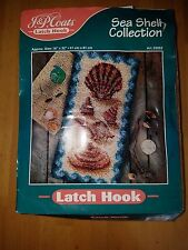 J P Coats Sea Shell collection Latch Hook rug kit 16 x 32