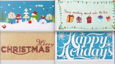 MONEY ENCLOSURE Christmas Card PAPYRUS Glittery / Foil / Laser Cut / 3D