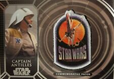 STAR WARS 40th ANNIVERSARY Retro Patch Relic Card CAPTAIN ANTILLES PC - 18