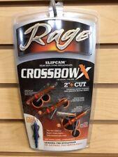 """New Rage 2 Blade 100 Gr 2"""" Cut Crossbow X Broadheads Auth / Dealer R53000"""