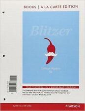 College Algebra, Books a la Carte Edition by Robert F. Blitzer (2012, Ringbound)