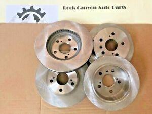 Brake Disc Rotors Pair CRK01405 Callahan FRONT 328 mm Premium OE 5 Lug 2