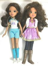 Moxie Girlz Dolls Lot Of 2 Collectable Toys