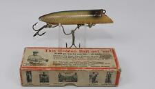 Vintage Tackle Heddon King Basser Wood Glass Eye Salmon Trout Fishing Lure
