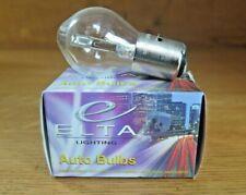 1 x ELTA LIGHTING Auto Headlamp Headlight Bulb ELBX394 Single BA20D 12v 25/25w