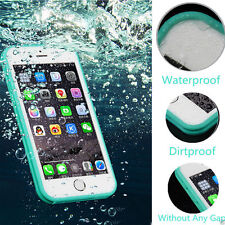 360°COMPLETO Impermeable Life PROOF suave carcasa TPU Funda para Iphone 5 6 7 8