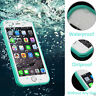 360°Full Waterproof life proof Soft TPU Case Cover For iPhone 5 6 7 8 Plus